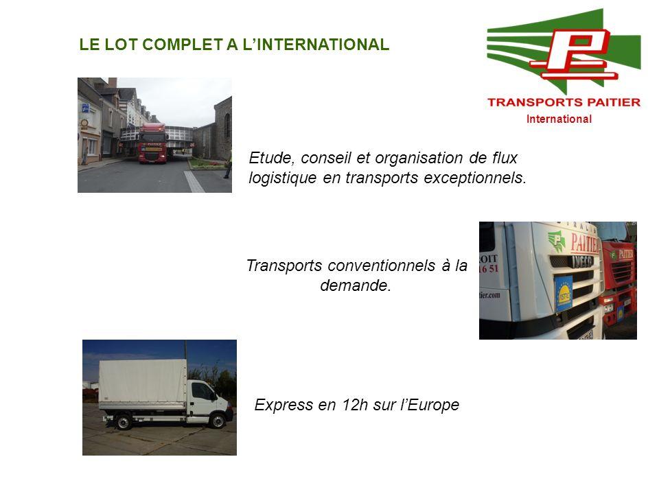 Transports conventionnels à la demande.
