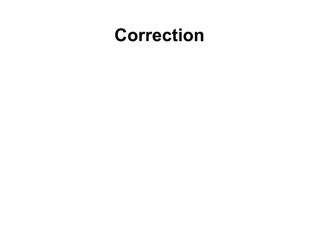 Correction 16