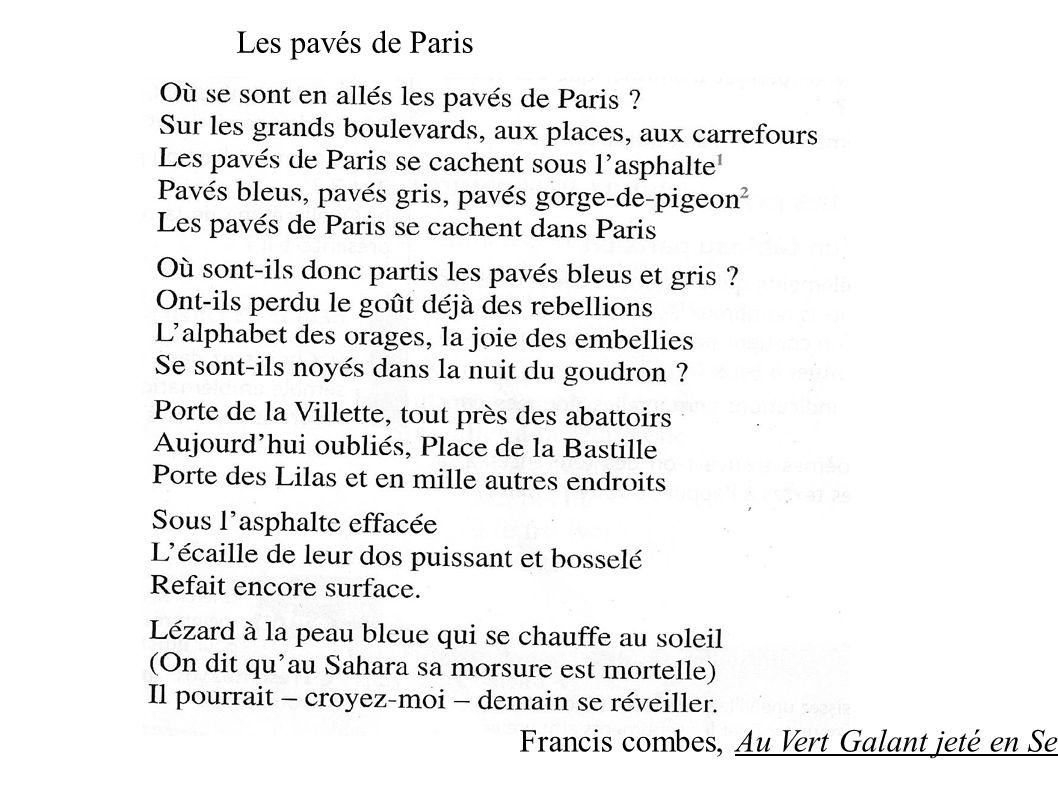 Francis combes, Au Vert Galant jeté en Seine