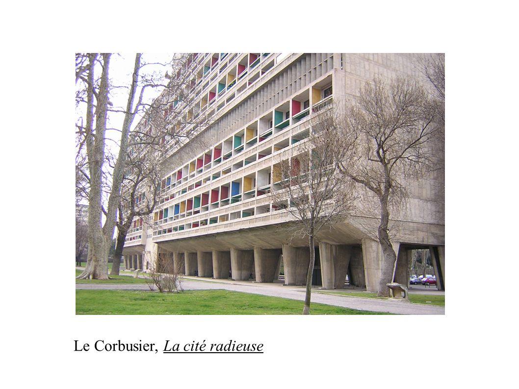 Le Corbusier, La cité radieuse