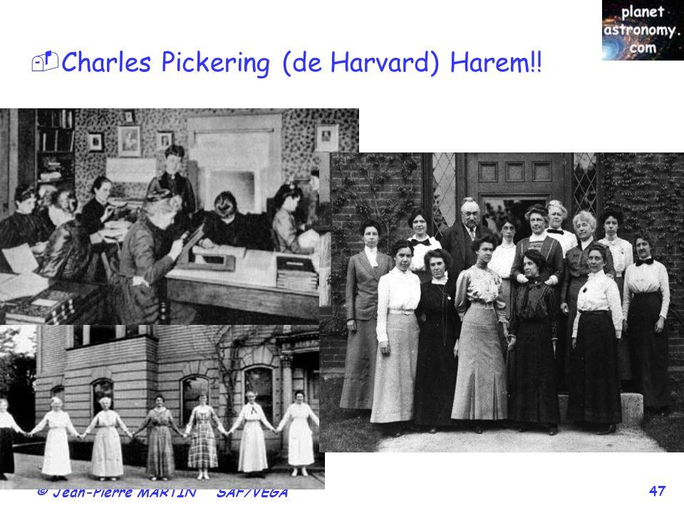 Charles Pickering (de Harvard) Harem!!