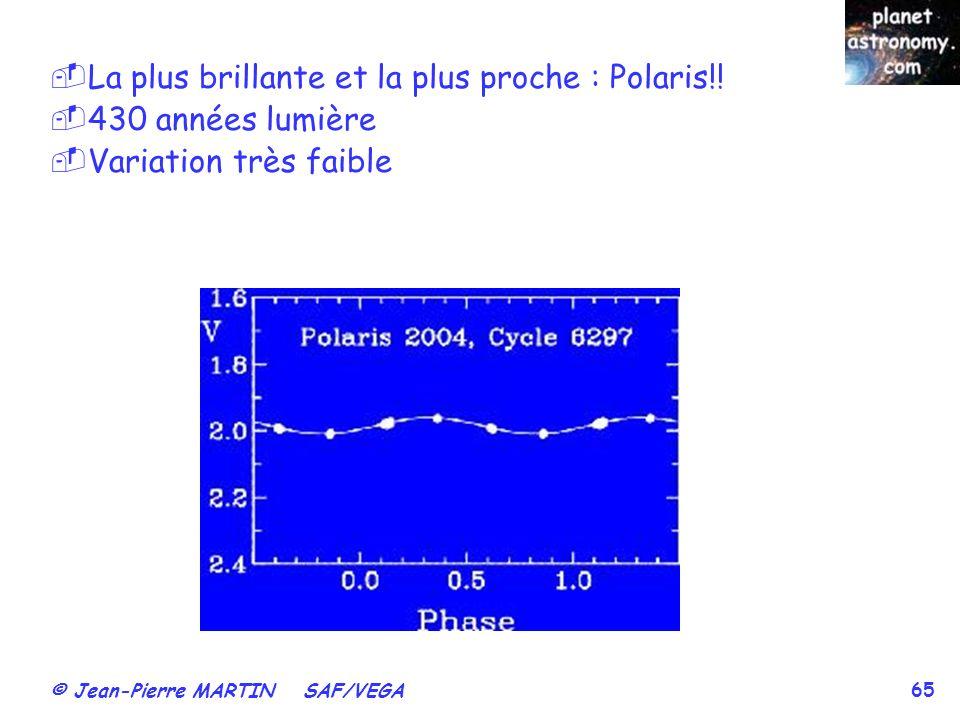 La plus brillante et la plus proche : Polaris!!