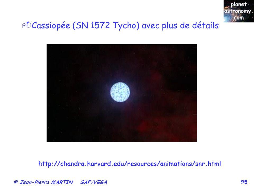 Cassiopée (SN 1572 Tycho) avec plus de détails