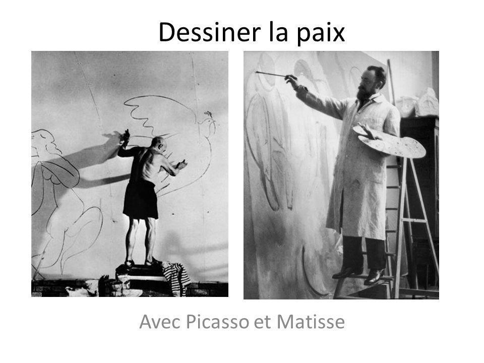 Avec Picasso et Matisse