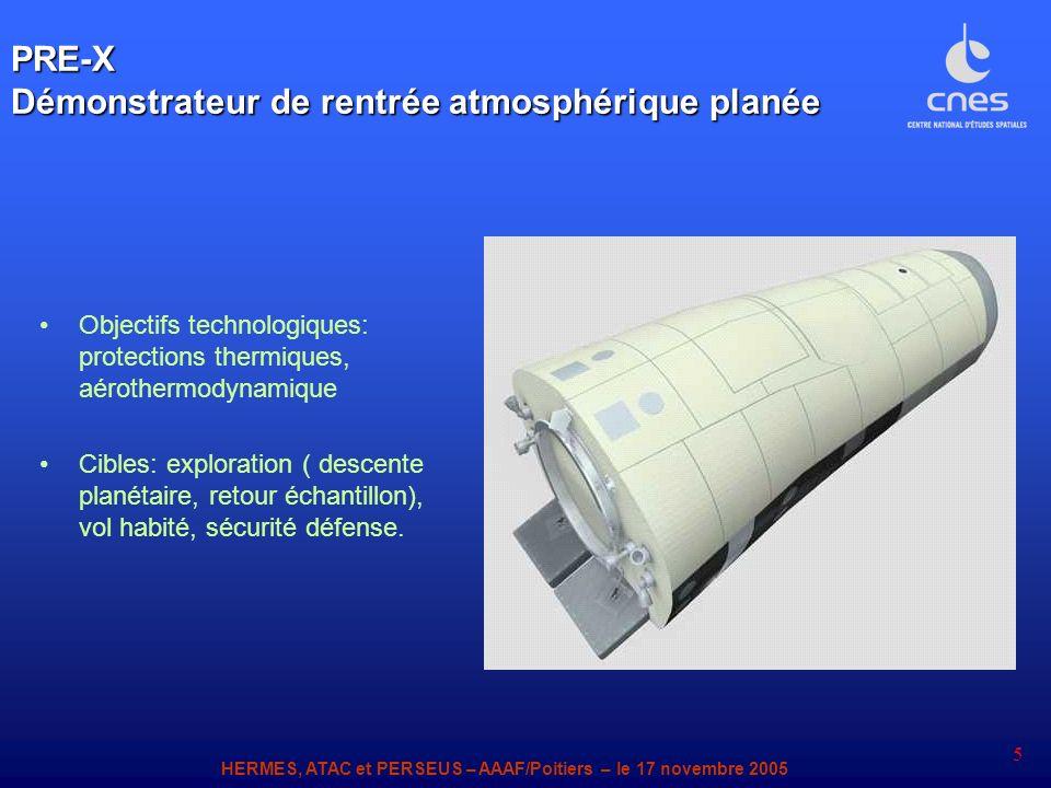 PRE-X Démonstrateur de rentrée atmosphérique planée