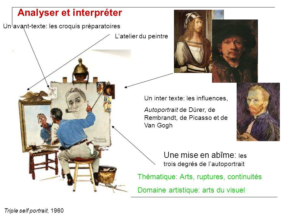 Analyser et interpréter