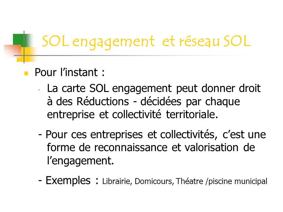 SOL engagement et réseau SOL