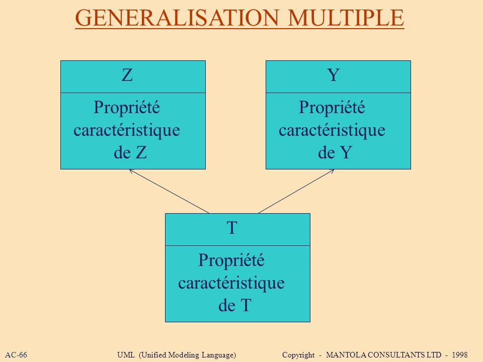 GENERALISATION MULTIPLE
