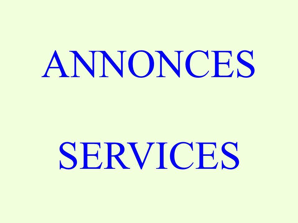 ANNONCES SERVICES