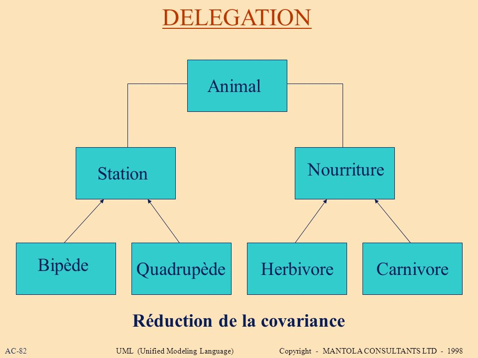 DELEGATION Animal Nourriture Station Bipède Quadrupède Herbivore