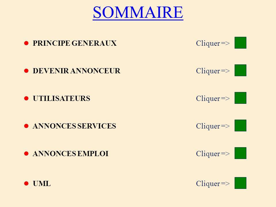 SOMMAIRE Cliquer => Cliquer => Cliquer => Cliquer =>