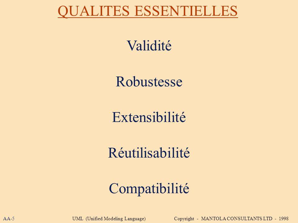 QUALITES ESSENTIELLES