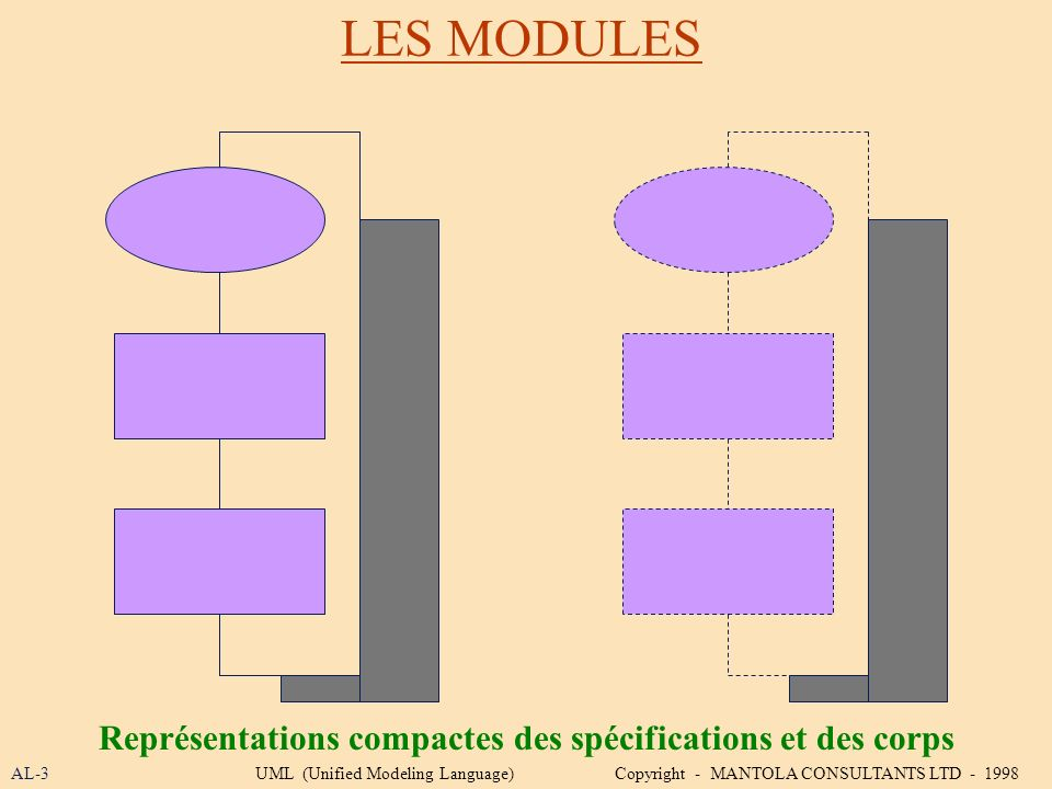Représentations compactes des spécifications et des corps