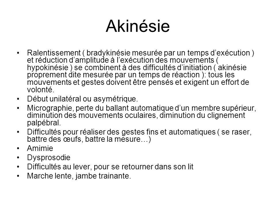 Akinésie