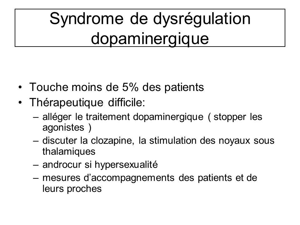 Syndrome de dysrégulation dopaminergique