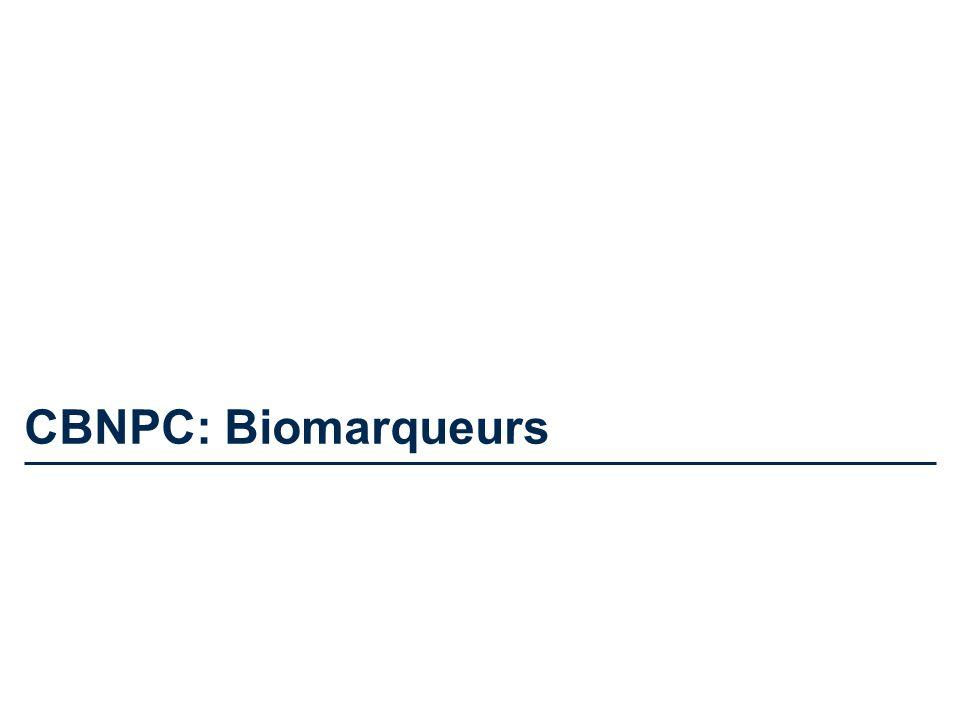 CBNPC: Biomarqueurs
