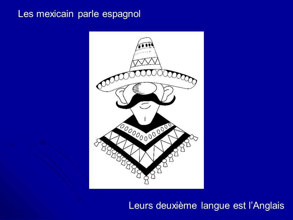 Les mexicain parle espagnol