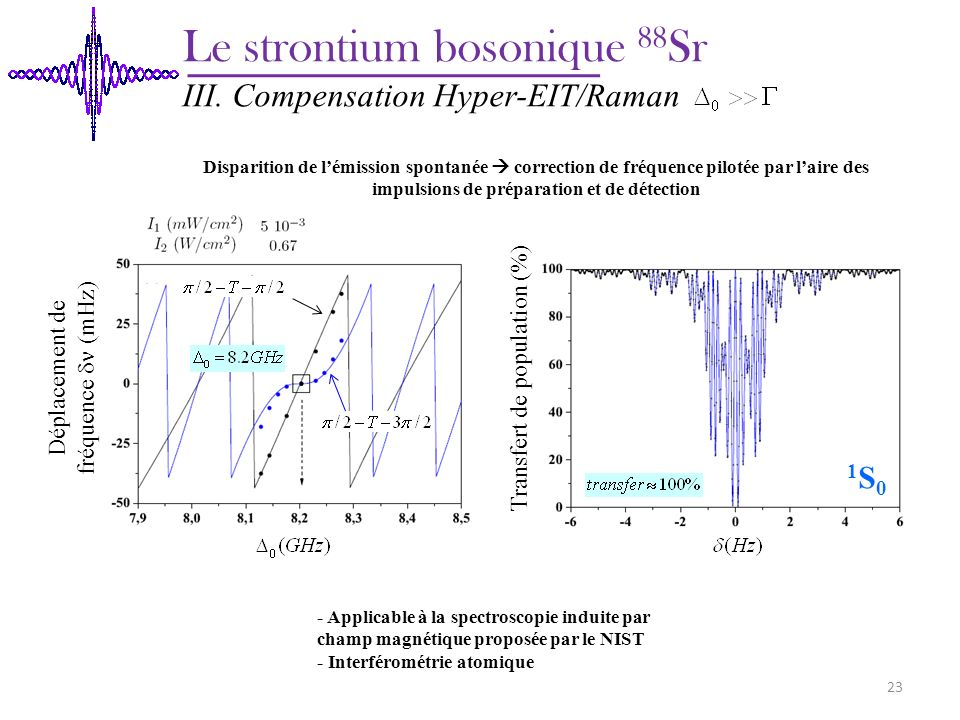 Le strontium bosonique 88Sr
