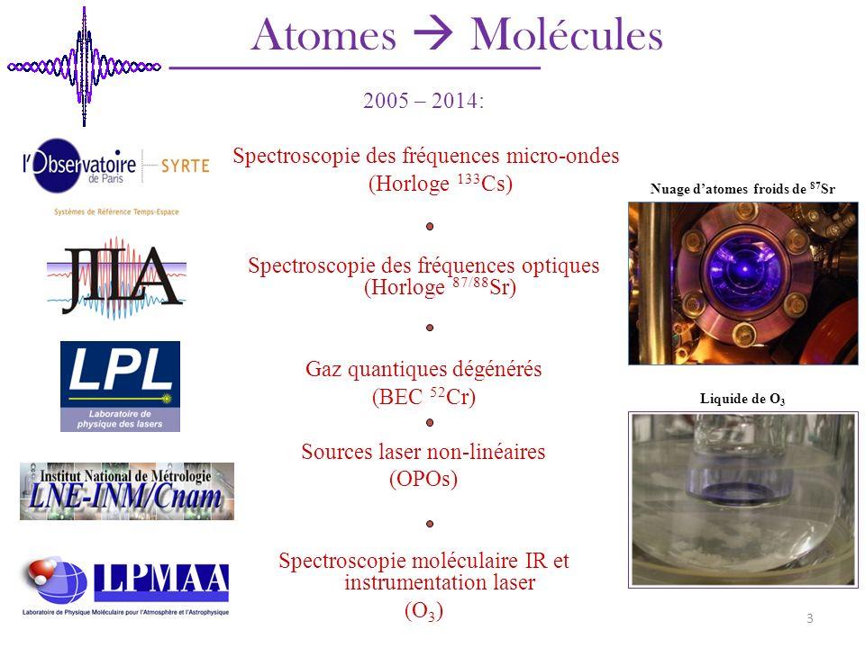 Nuage d'atomes froids de 87Sr