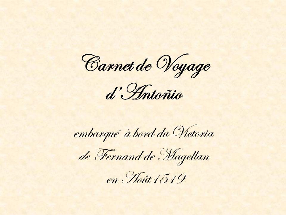 Carnet de Voyage d'Antoñio