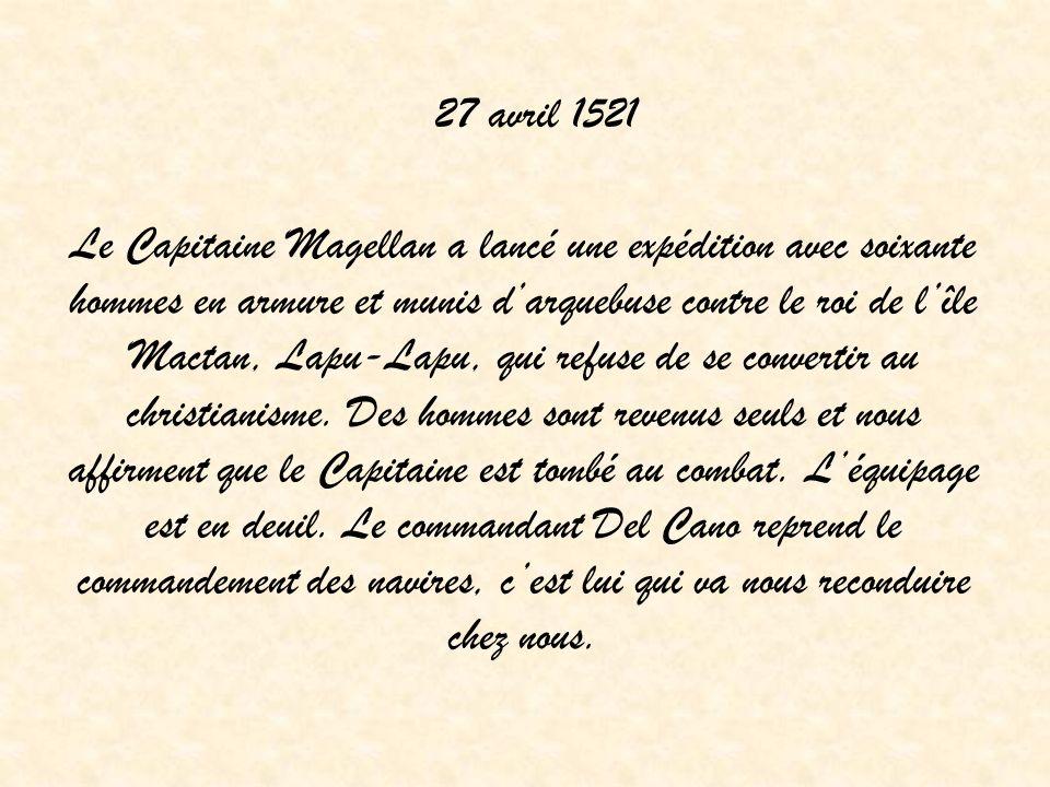 27 avril 1521