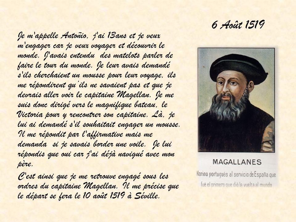 6 Août 1519