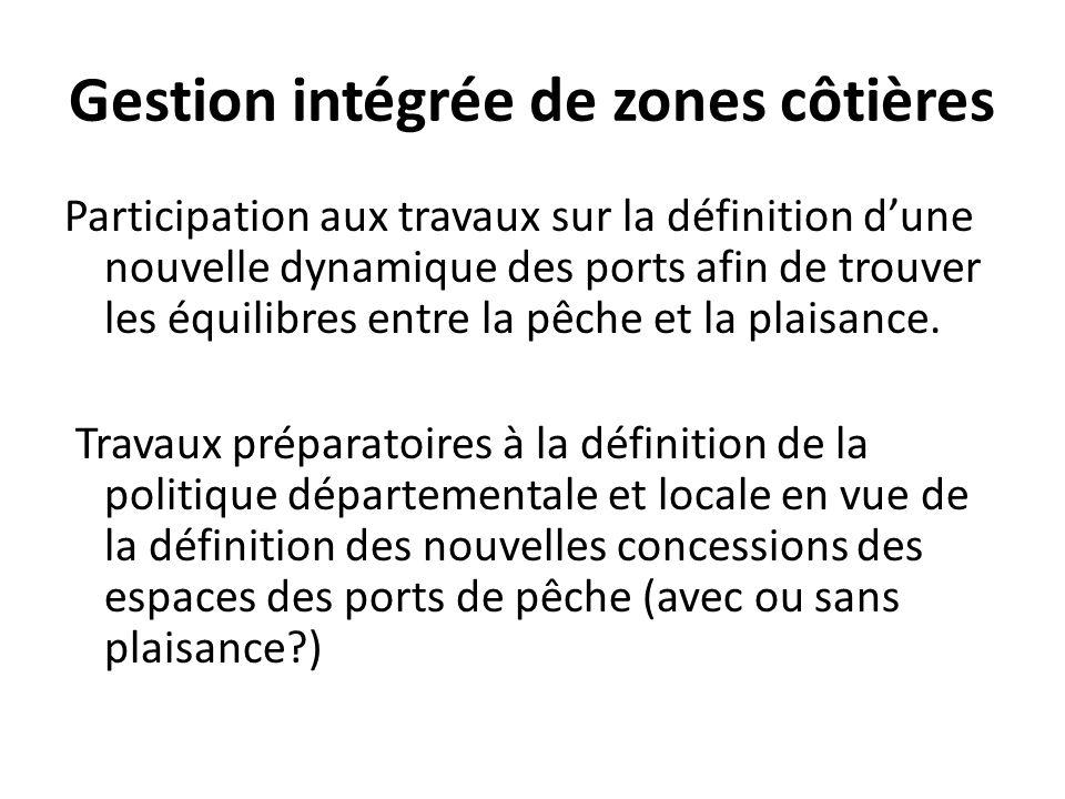 Gestion intégrée de zones côtières