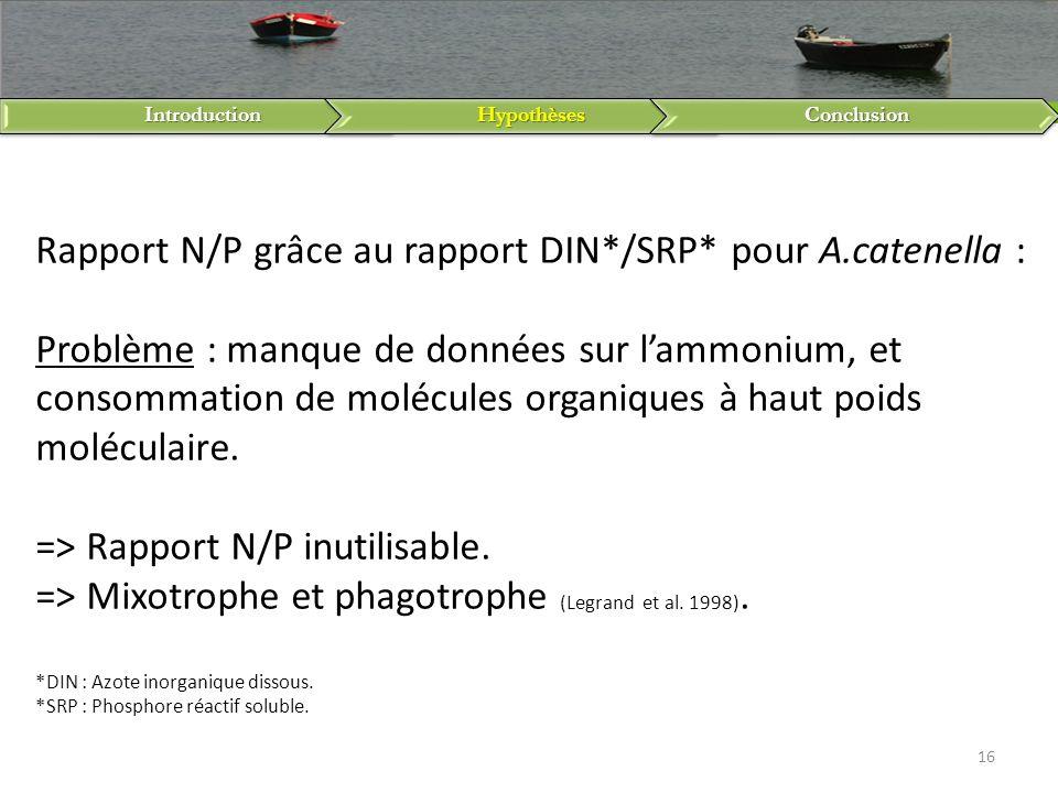 Introduction Hypothèses. Conclusion.