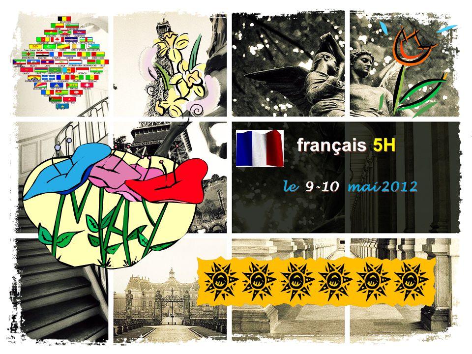 français 5H le 9-10 mai 2012