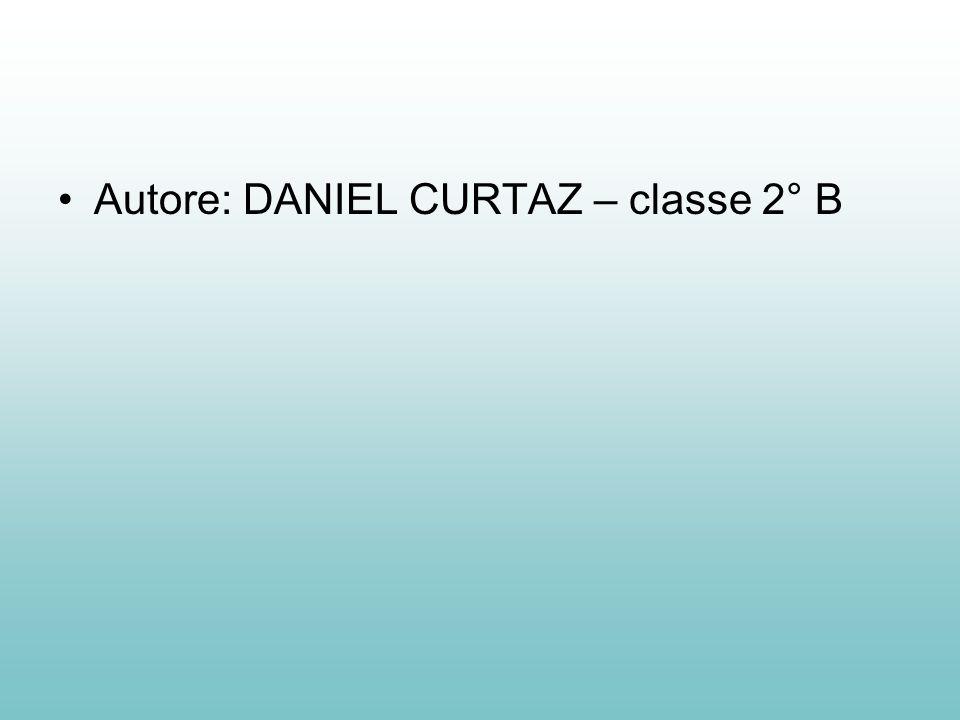 Autore: DANIEL CURTAZ – classe 2° B