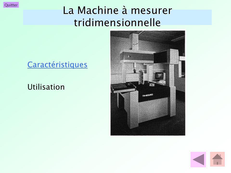 La Machine à mesurer tridimensionnelle