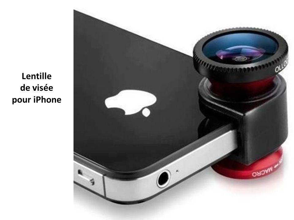 Lentille de visée pour iPhone
