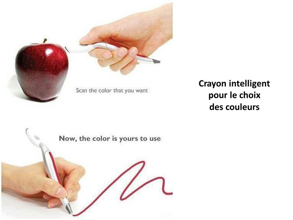 Crayon intelligent pour le choix des couleurs