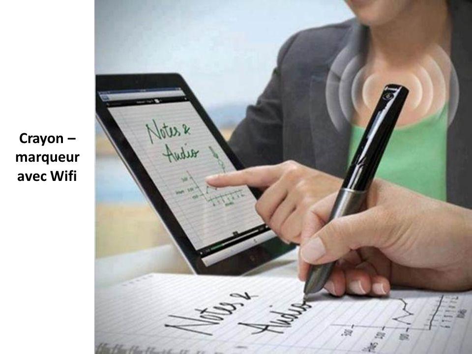 Crayon –marqueur avec Wifi