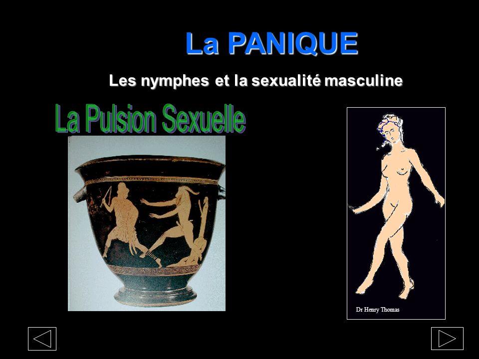 La PANIQUE La Pulsion Sexuelle Les nymphes et la sexualité masculine