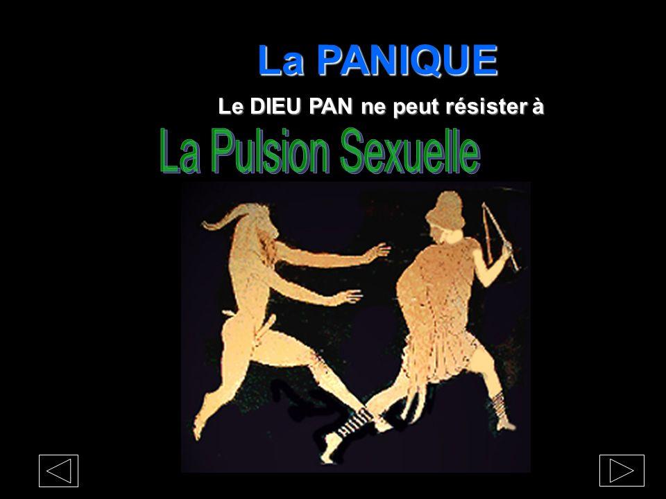 La PANIQUE Le DIEU PAN ne peut résister à La Pulsion Sexuelle