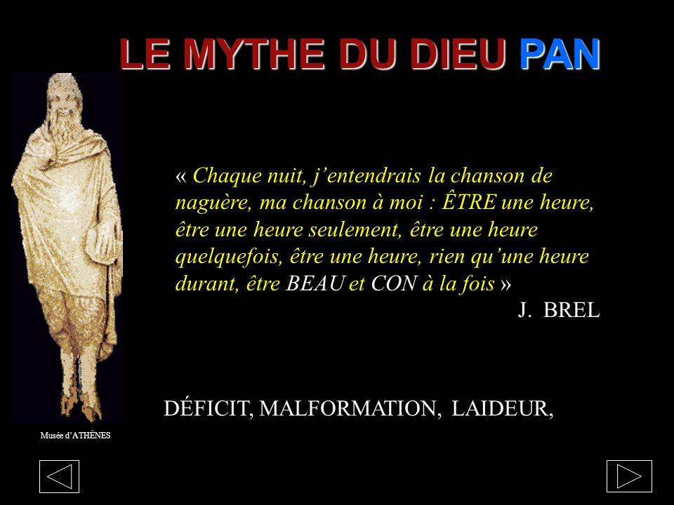 LE MYTHE DU DIEU PAN