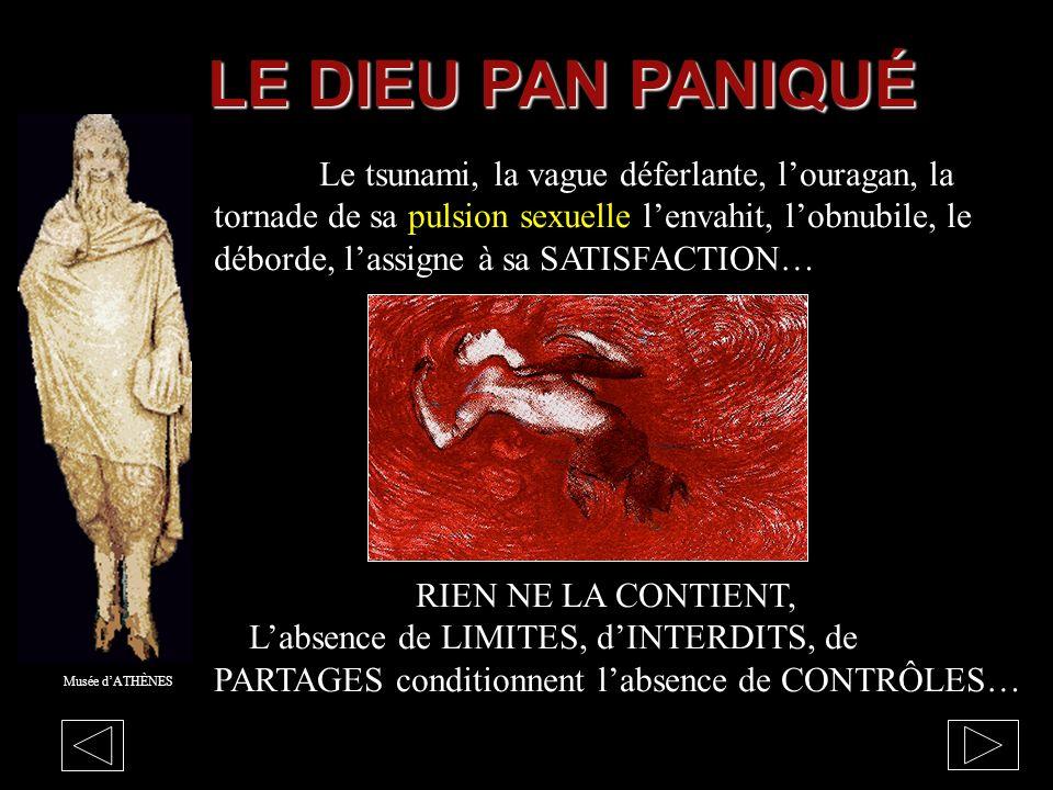 LE DIEU PAN PANIQUÉ