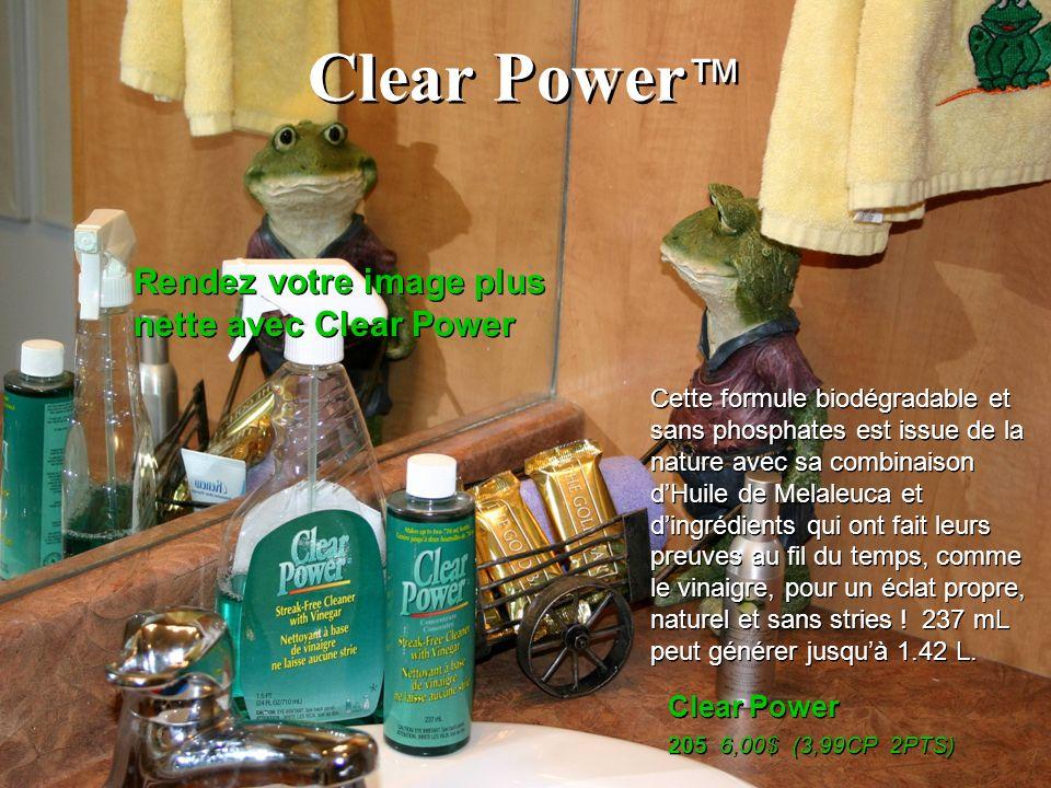 Clear Power™ Rendez votre image plus nette avec Clear Power