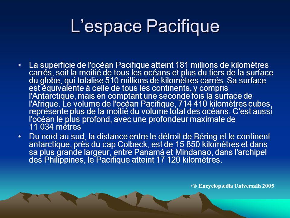 L'espace Pacifique