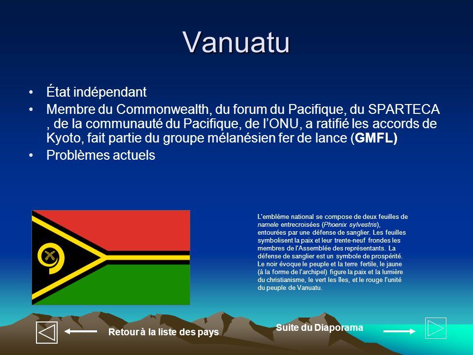Vanuatu État indépendant