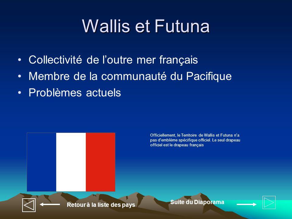 Wallis et Futuna Collectivité de l'outre mer français