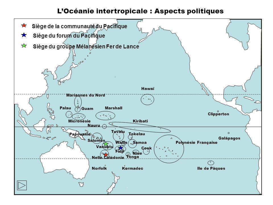 L'Océanie intertropicale : Aspects politiques