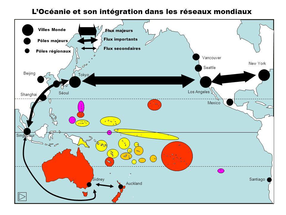 L'Océanie et son intégration dans les réseaux mondiaux