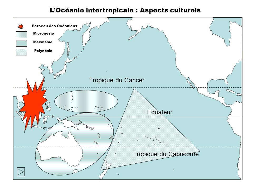 L'Océanie intertropicale : Aspects culturels