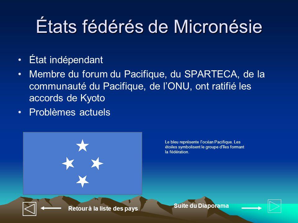 États fédérés de Micronésie