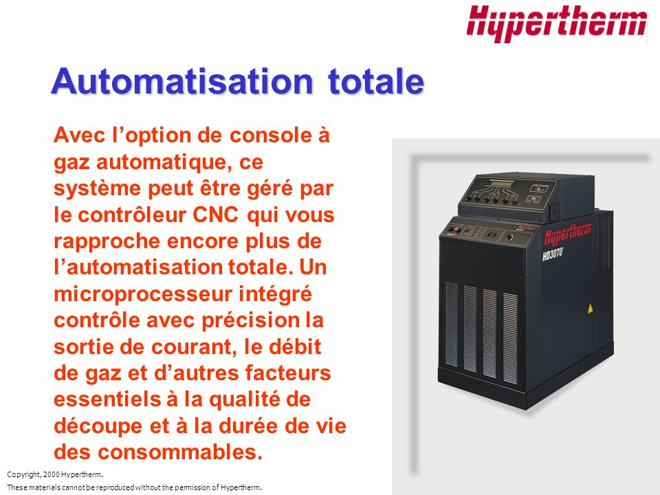 Automatisation totale