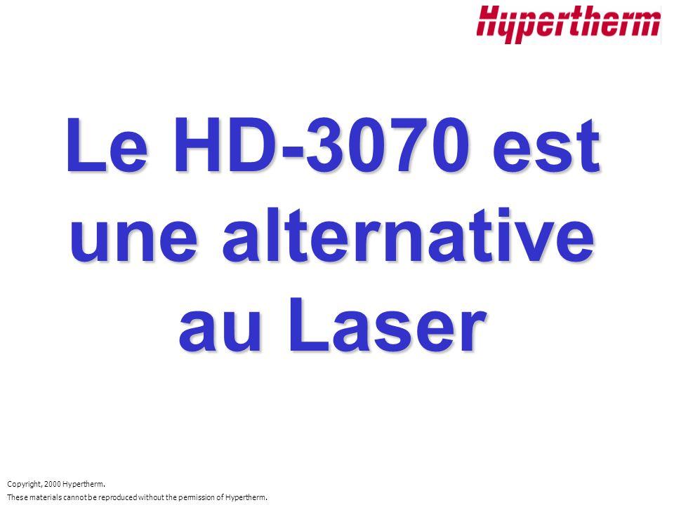 Le HD-3070 est une alternative au Laser