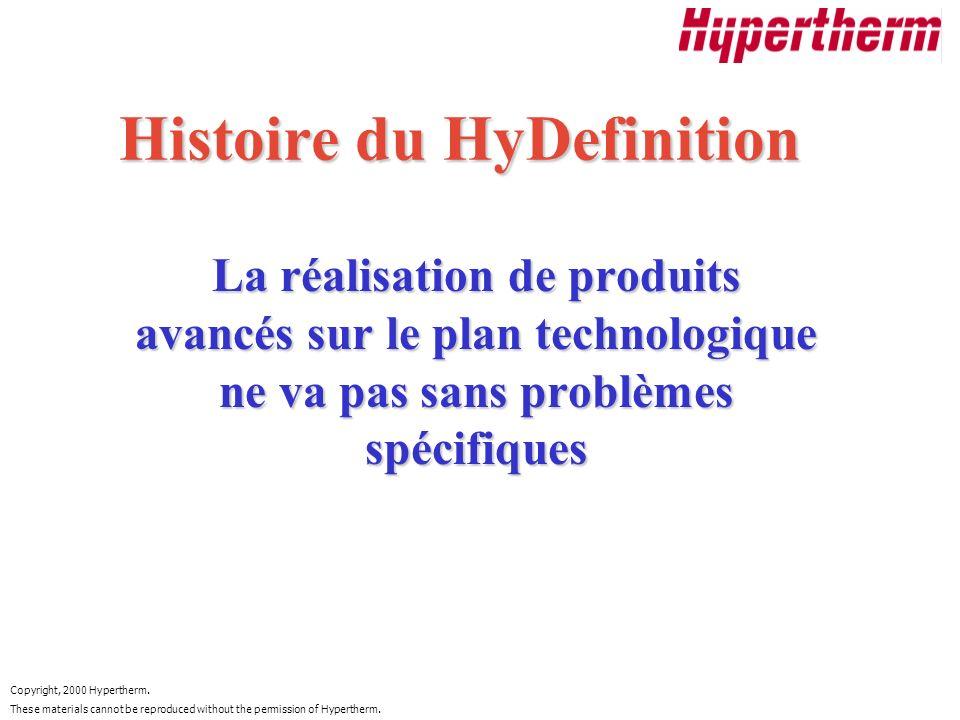Histoire du HyDefinition