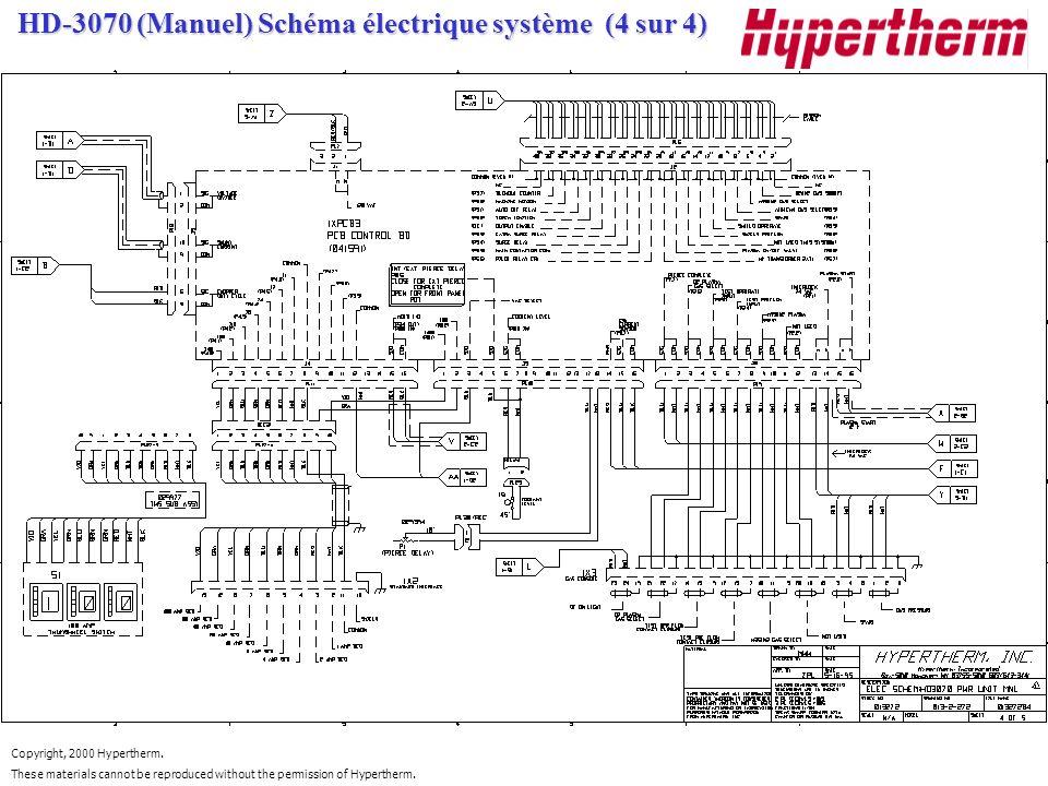 HD-3070 (Manuel) Schéma électrique système (4 sur 4)